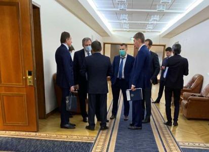 Глава Тувы вернулся из рабочей командировки  в Москву
